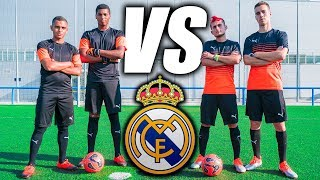 RETOS de FÚTBOL VS REAL MADRID