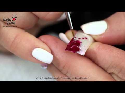 Рисунки на ногтях иголкой. Инструкция для начинающих
