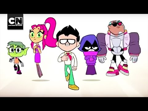 Back To School I Teen Titans Go I Cartoon Network