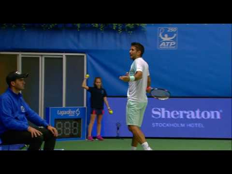 Tuesdays highlights in If Stockholm Open