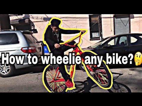 how to wheelie any bike ???