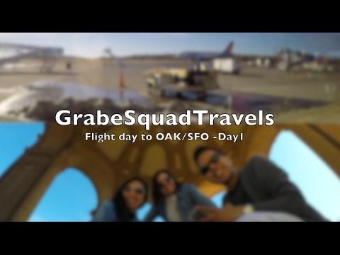 Flight day to OAK/SFO-Day 1| Travel Vlog
