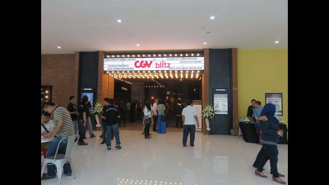 Grand Opening Cgv Blitz Eco Plaza Citraraya Tangerang 19 10 2016
