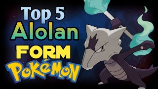 Top 5 Alolan Forms In Pokemon ( Hindi )