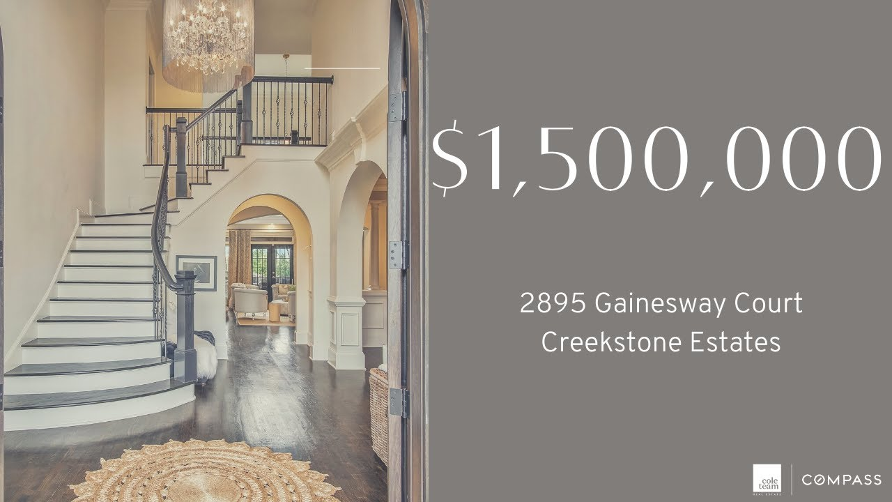 Tour this Incredible Luxury Home in Creekstone Estates