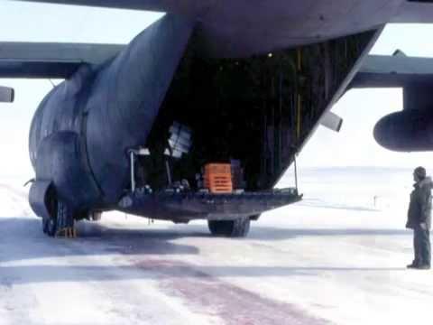 Cargo Flight from DYE M to BAR 2