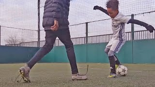 Most Beautiful Skills & Tricks by Kids in Futsal/Football #1