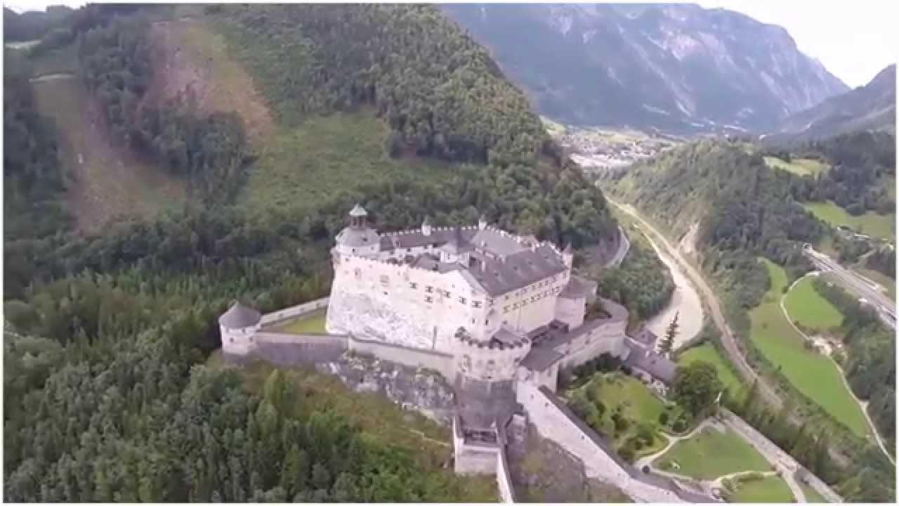 Австрия. Замок Хоэнверфен. Туризм, отдых и путешествия