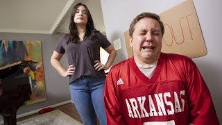 SEC Shorts - Arkansas's mom won't let him play football this year