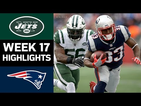 Jets vs. Patriots | NFL Week 17 Game Highlights