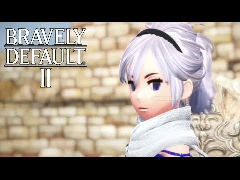 Bravely Default 2 - Demo Gameplay