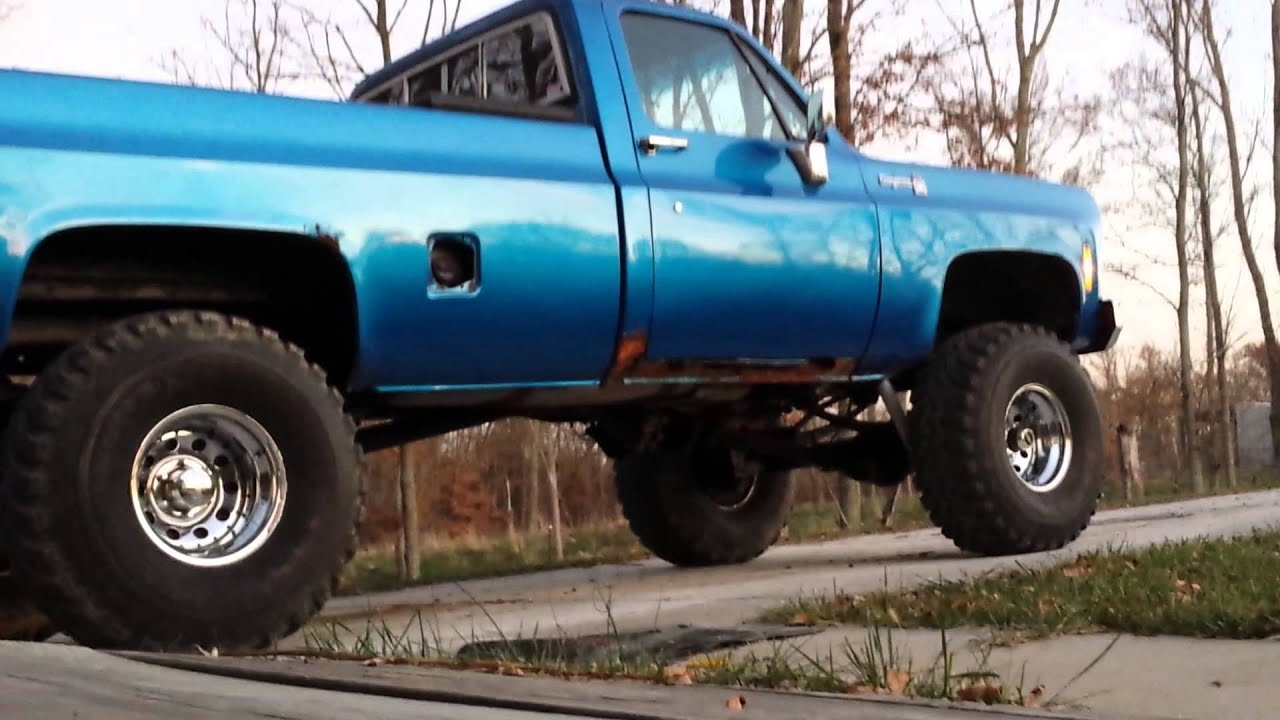 77 Chevy Truck >> 1977 chevy k10 4x4 - YouTube