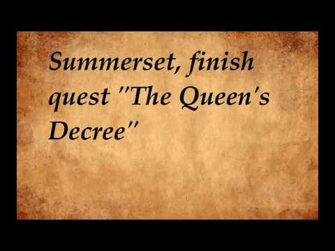 "ESO - Summerset - Psijic Order`s Skill line -  part 1 ""The Queen`s Decree""  "