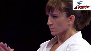 WKF European Karate Championships Female Kata Final 2021 Dilara Bonza (TUR) Vs Sandra Sanchez (ESP)
