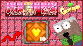 Growtopia - Buy 300+ Packs (Valentine Week) BAD LUCK! ( 1.5 million gems)