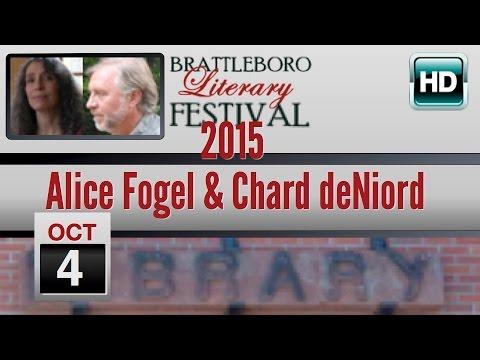 Brattleboro Literary Festival 2015: Alice Fogel & Chard deNiord