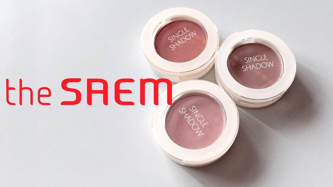 ザセム シングルシャドウ マット BR20, BE10, BR21|the SAEM Single Shadow Matt