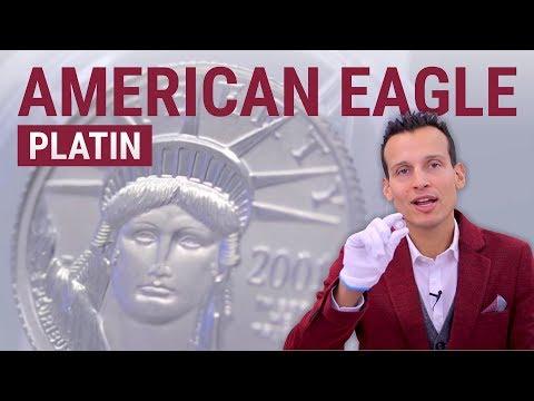 1/10 Unze Platin - American Eagle Platinmünze