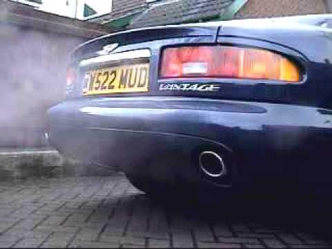 Aston Martin DB7 Vantage Cold Start