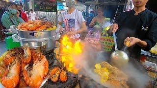 Xếp hàng mua Tôm Càng Xanh kiểu Mỹ siêu rẻ trên vỉa hè ở Sài Gòn