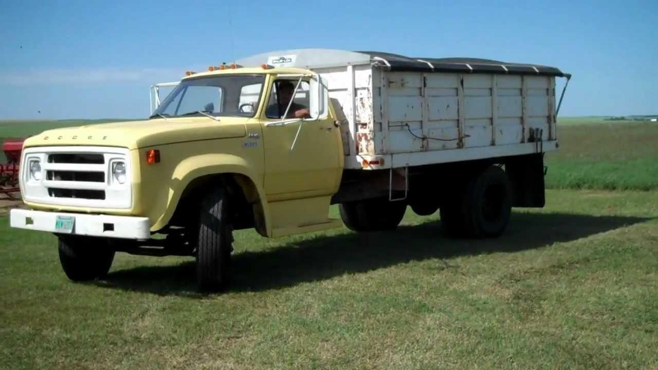 Cherpin 1968 Dodge Grain Truck Mack Auction Company April