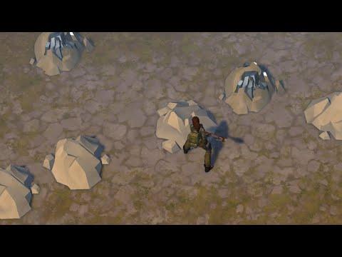 Добываем известняк в каменных предгорьях