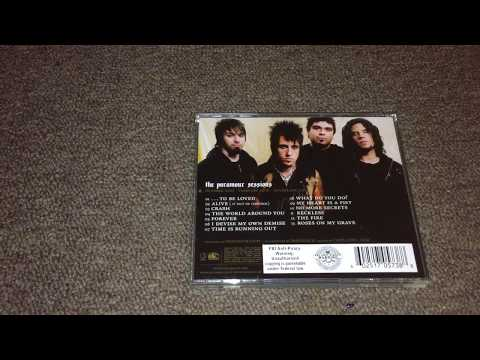 Unboxing/Review - Papa Roach The Paramour Sessions CD (2006)
