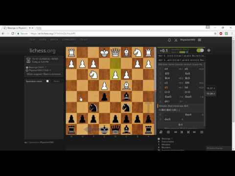 Classical Chess, Instructional Chess game 7