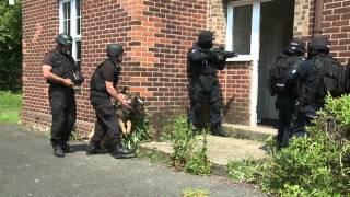 Firearms/dog Unit Training