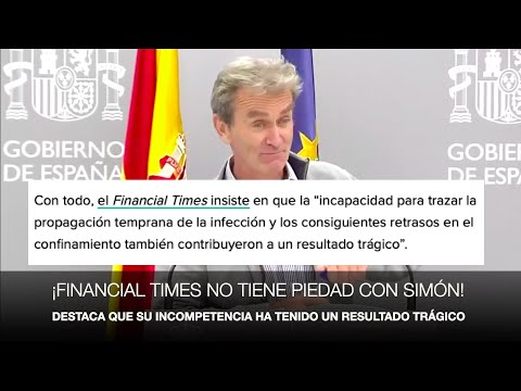 ¡FINANCIAL TIMES DESPEDAZA A FERNANDO SIMÓN!