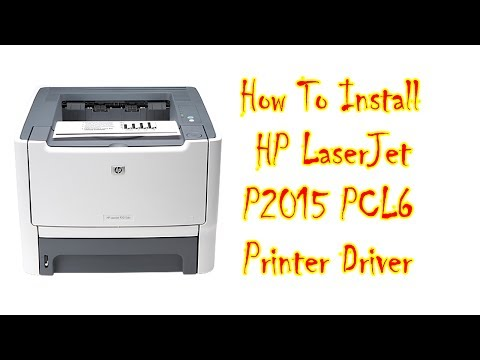 INSTALL HP LASERJET P2015D TREIBER WINDOWS 10