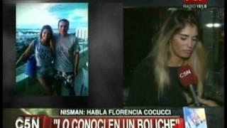 C5N - LA MUERTE DE NISMAN: HABLO LA MODELO FLORENCIA COCUCCI