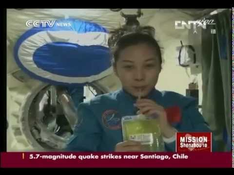 Wang Yaping: China's female lecturer in space