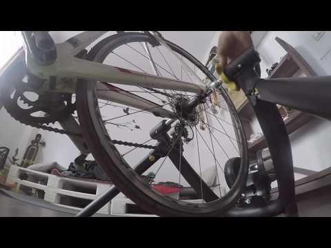 How To Set Up A CycleOps Jet Fluid Pro Trainer