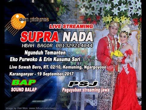LIVE STREAMING SUPRA NADA -  Sawah Bero - Kemuning - Ngargoyoso - Karanganyar