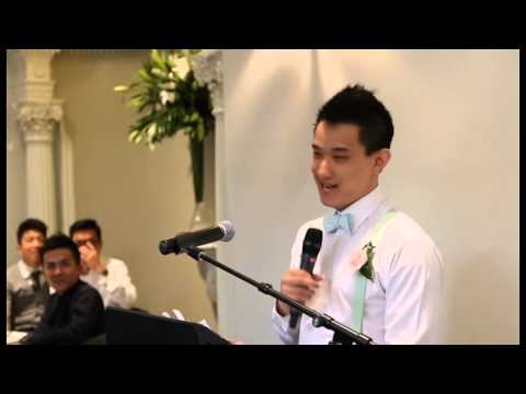 The Most Epic and Creative Bestman Speech in Wedding History!