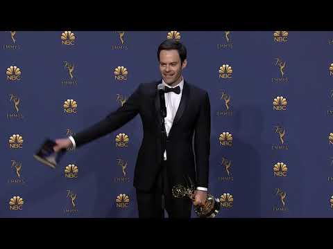 Bill Hader - Emmys 2018 - Backstage Speech
