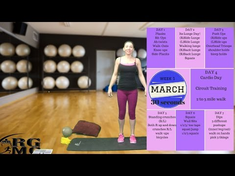 31 Days of Fitness - Easy Fitness and Food Tips with Melissa