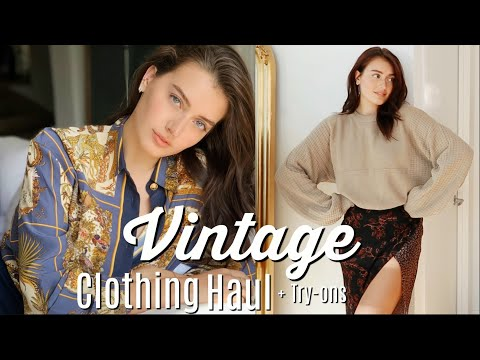 Vintage Clothing Haul | Thrifting Tips & Favorite Stores