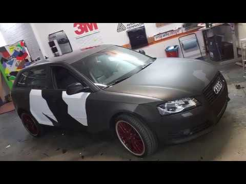 audi a3 fullwrap camouflage schulz industries 3m. Black Bedroom Furniture Sets. Home Design Ideas