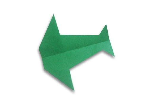 Cách gấp, xếp máy bay chim én bằng giấy origami phi xa, cao, lâu - Hướng dẫn kiểu 8