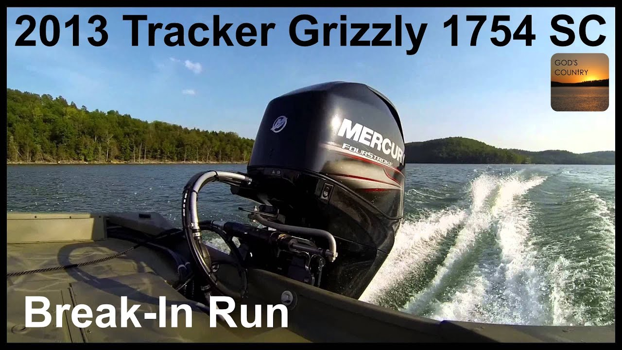 2013 Tracker Grizzly 1754 Sc Jon Boat W Mercury