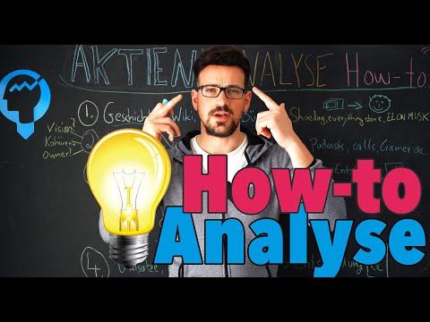 So Analysiere Ich Aktien! Aktienanalyse How-To Video