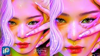TUTORIAL | How to make this edit ft. Jennie | Ibispaint X