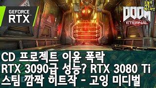 둠 이터널 RTX의 굉장함 외 | 게임 헤드라인