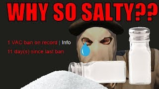 CSGO - Salty Cheaters Cry About Their VAC BANS!!