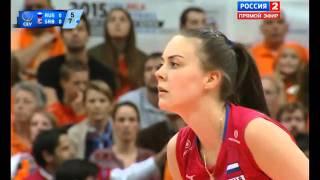 Россия - Сербия. ЧЕ. 1/2 финала. Женщины