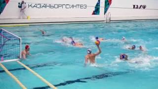 Sintez Kazan VS Dynamo Moscow 10-9 (Water Polo SemiFinals Russia)
