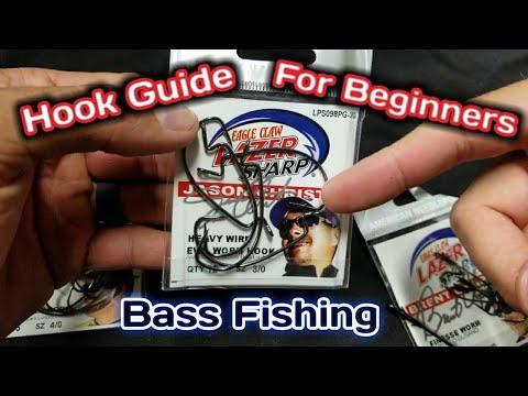 How To Choose Hooks For Texas Rigs (Best Bass Fishing Hooks For Senkos, Flukes, Craws, Etc.)