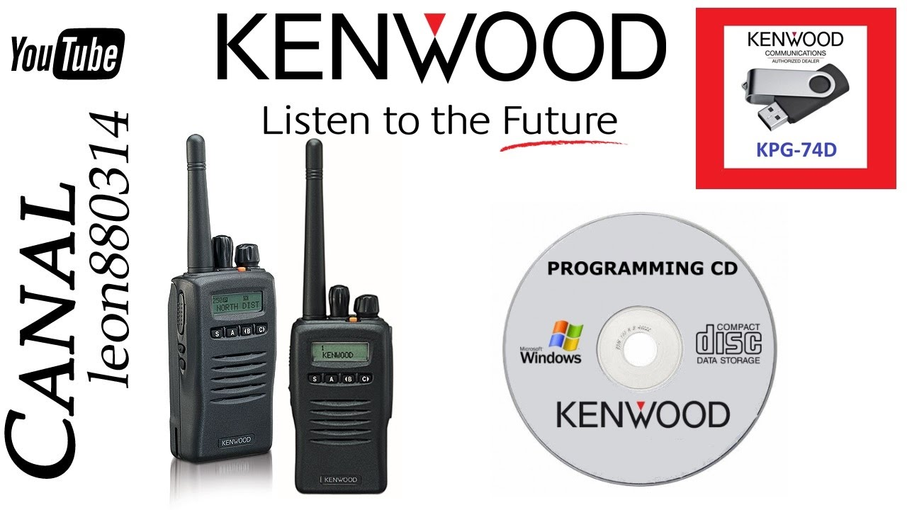 Como Descargar E Instalar Software De Radios Kenwood Kpg